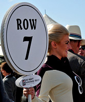 Goodwood Revival 2012 Start Line Girls