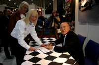 Me with Sir Stirling Moss at Race Retro
