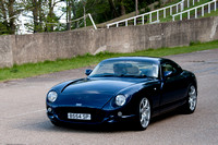 TVR Car Clubs & Lancaster Dambusters Celebration Flyover - Brooklands Museum