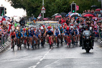 Olympic Road Races through Surrey and Hyde Park Corner