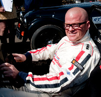 Heston Blumenthal at Silverstone Classic
