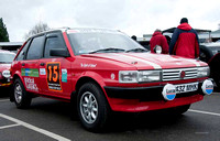 London to Cape Town World Cup Rally Start - Brooklands Museum