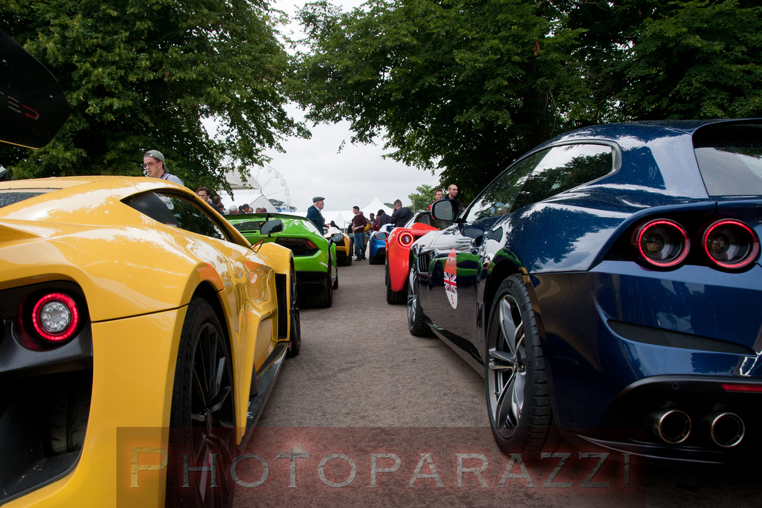 Festival of Speed - Moving Motor Show - Thursday