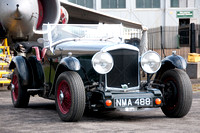Bentley Drivers Club Driving Tests - Brooklands Museum